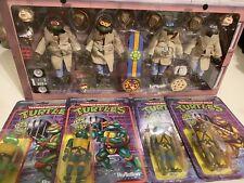 neca teenage mutant ninja turtles In Disguise Plus 4 More Figures All Sealed