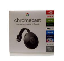 Google Chromecast 2nd Generation Digital HDMI Media Streaming Device in Black