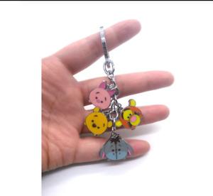 1pcs cartoon bear eeyore tiger Keychain Jewelry Accessories Key Chains Pendant