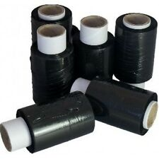 90 ROLLS OF BLACK MINI / HANDY PALLET STRETCH SHRINK WRAP