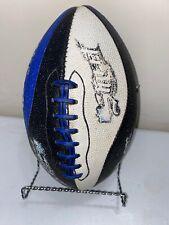 Vintage Wilson Nfl Street Video Game Football Blue, Black, White Rare