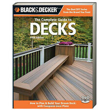 Black & Decker Complete Guide to Decks, updated 5th edition (pb) NEW