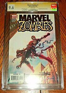Marvel Zombies #1 CGC SS 9.6 Arthur Suydam 1st Print Amazing Fantasy #15 Homage