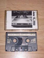Vintage 2000 DeLorean Cleveland Ohio Car Show Driving Cassette/Radio/Free Ship!