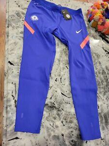 NWT Nike Chelsea Football Club Track Pants Mens Large Vaporknit blue