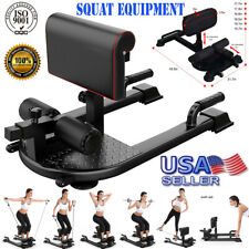 8-in-1 Multifunctional Machine Deep Sissy Squat Home Gym Fitness Equipment