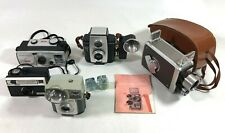 Vintage Kodak Movie Brownie Reflex Film Starmite Box Camera Collection Lot of 5