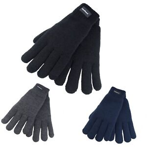 Ladies Thermal 3M Thinsulate Lined Winter Knitted Gloves