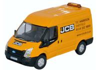 Oxford Diecast 76FT027 Ford Transit MK 5 SWB Medium Roof JCB OO Gauge