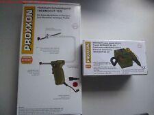 PROXXON Set 28706 MicroMot Netzgerät Trafo Netzteil NG 2/S 230V+Thermocut 12 /E