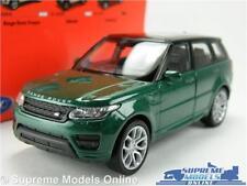 RANGE ROVER MODEL CAR GREEN 1:36-1:38 SCALE WELLY NEX 4X4 OFF ROAD MK4 K8