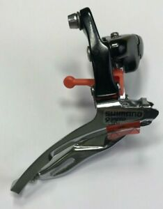 New Shimano FD-R443 Front Derailleur Bottom Pull 31.8mm Clamp-on 3x9 Spd Triple