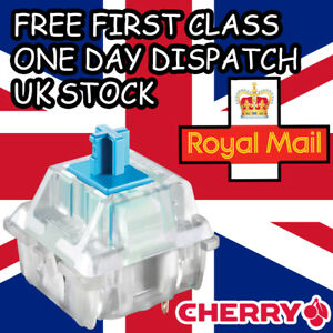 5 x NEW Cherry MX Blue RGB Switches Replacement Tester Genuine Cherry UK Stock
