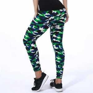 Women Camouflage Printed High Waist Leggings