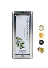 Pressé à Froid Huile D'Olive Extra Vierge Crète 5 Liter Acide 0,3 %