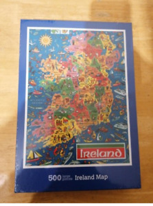 Ireland Map 500 Piece Puzzle