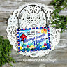 DECO MINI SIGN Nanny  Poppy House Door Hanger Wooden Ornament  Personalized USA