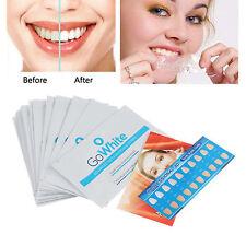 28pcs Professional 3D GO Effects Teeth Whitening Strips Bleaching Whitestrips