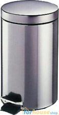 Pattumiera acciaio inox 14lt lusso meliconi