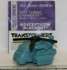 Transformers TINY TURBO Changers SERIES 1 DECEPTICON BLACKOUT