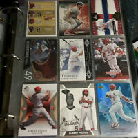 Albert Pujols ST LOUIS CARDINALS Baseball 9 Card Lot