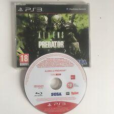 Aliens vs Predator PS3 PlayStation 3 Promo Full Game *Very Rare*