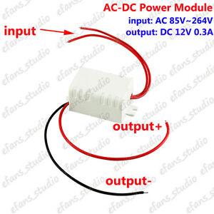 AC-DC Power supply Module AC 110V 220V 230v To DC 12V Buck Converter Transformer