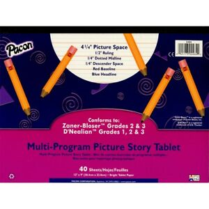 Multi-Program Picture Story Paper Tablet #3