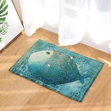 Fish Back in the Sea Non-Slip Bathmat Outdoor Indoor Front Door Mat 40x60cm