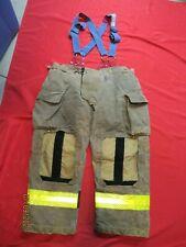 Mfg 2013 Morning Pride 42 X 30 Fire Fighter Turnout Pants Bunker Gear Suspenders