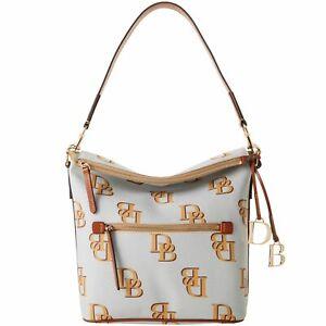 Dooney & Bourke Monogram Large Sac Shoulder Bag