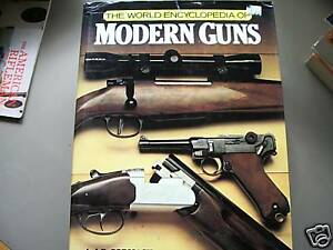 WORLD ENCYCLOPEDIA OF MODERN GUNS 1979 HARDCOVER