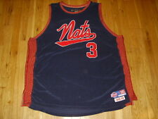 Vtg Reebok ALLEN IVERSON 1948-49 SYRACUSE NATIONALS NATS DFunkd Team JERSEY 3XL