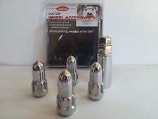 """Holden FX - WB  Torana  Monaro Bullet Wheel lock Nut Set 7/16""""UNF 4 Nuts & Key"""