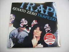 RENATO ZERO - TRAPEZIO - LP REISSUE COLOURED VINYL NEW SEALED 2012