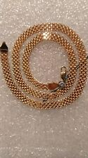 585,14 ct., Russian Gold Necklace (Bismark) -- 16.70 gr., length = 50 cm., Used.