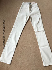 IDA Womens Jeans in Jeanie Cigarette ( Straight )  In Milk BN With Tags RRP£160