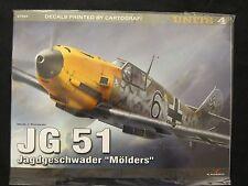"Kagero Book: JG 51 Jagdgeschwader ""Molders"" - 40 photos, 10 drawings, 28 pages"