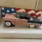 ERTL American Muscle collectors edition 1:18 1955 Chevrolet Bel Air Coral/Gray