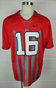 Nike OSU Ohio State 1916 Football Throwback Jersey Music & Cannon Fire Mens XXL