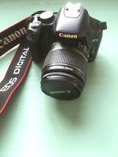 Canon EOS 450D Digital SLR Camera - Black with Standard EF-S 18-55mm