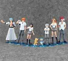 8pcs Bleach Japanese Anime Figures CHN VER Kurosaki Ichigo Kuchiki Rukia Aizen