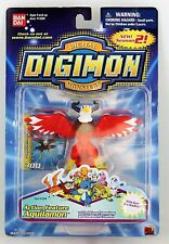 Digimon Figure - 2000 Aquilamon Action Feature - Bandai Anime Eagle Bird Hawkmon