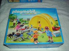 PLAYMOBIL  5435 FAMILY CAMPING WITH TENT AND ACCESSORIES   BRAND NEW