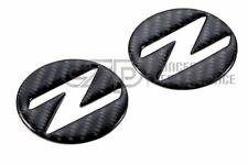 CZP 350Z Carbon Fiber Fender Emblem Inserts, NEW
