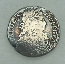 More details for collectable king charles ii scottish merk coin - 1672