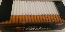 600x Voda Companeros Empty Tobacco Cigarette Filter Tubes Filter 15 mm King Size