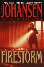 Firestorm by Iris Johansen (2004, Hardcover, Large Type)