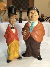 Vintage 1971 Universal Statuary Figurines (15 1/2�) Stan Laurel & Oliver Hardy