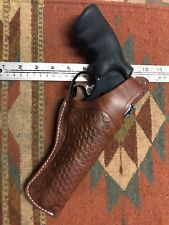 """FITS Ruger Redhawk 44 Mag 5 1/2"""" Barrel Leather Thumb Break Field Holster"""
